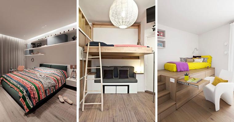 谁说青少年卧室最难设计?呶这里有14个例子
