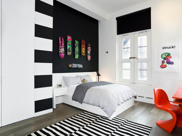 谁说青少年卧室最难设计?呶这里有14个例子_8