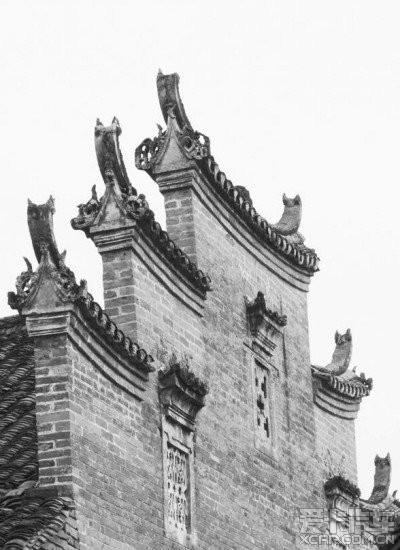 """中国古典建筑的""""八大""""元素…"""