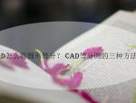 CAD怎么将圆形等分?CAD等分圆的三种方法详解