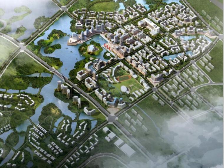 [广东]某镇中心城区城市设计和控制性详细规划文本(PDF+64页)