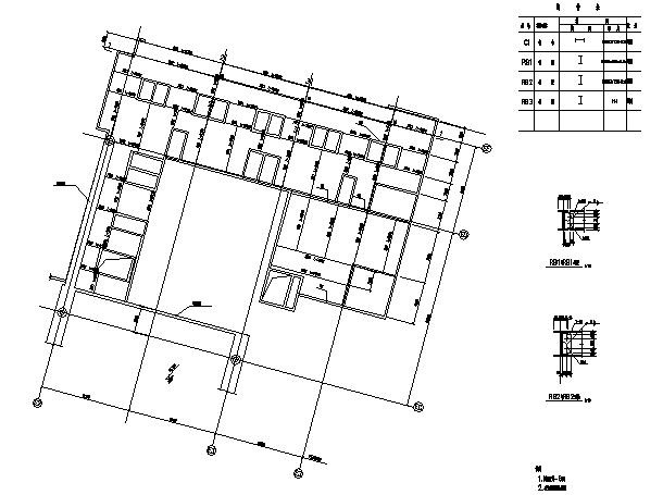 UPS在机场的应用资料下载-广州新白云机场航站楼钢屋面施工图(CAD,25张)