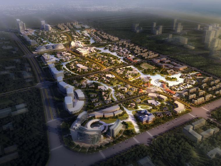 [浙江]嘉兴南湖金融小镇美丽乡村规划建筑方案