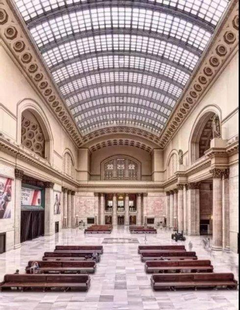 VA作品集建筑设计,那些高颜值的火车站都长什么样?