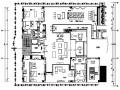 [江苏]水墨江南新中式风格套房施工图设计(附高清效果图)