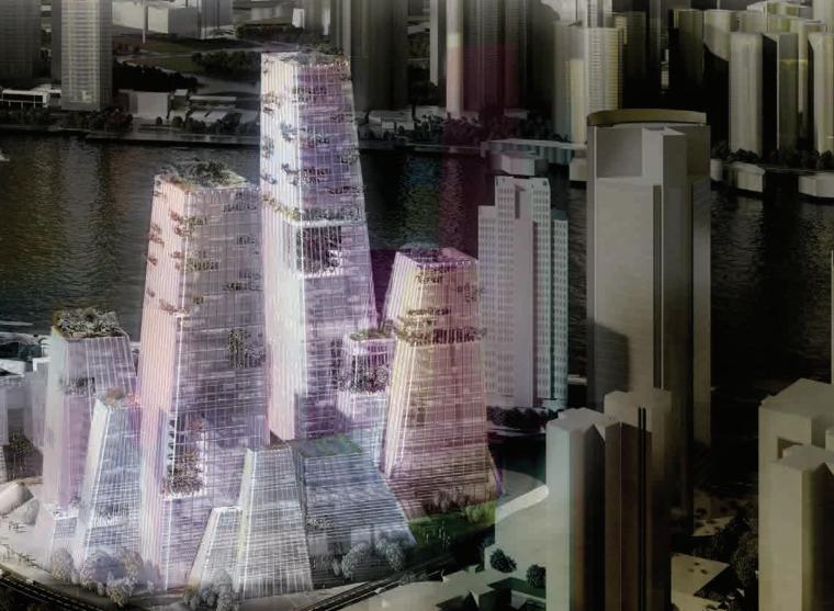 [上海]外滩金融中心城市综合体设计方案文本(PDF)