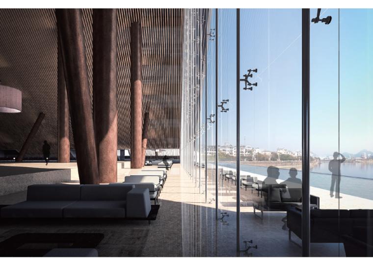 [安徽]黄山花溪酒店改造建筑设计方案文本