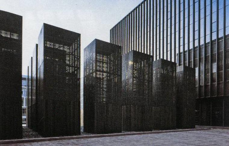 [广东]某大型图书馆室内设计方案