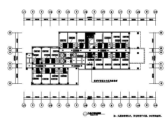 泰安艾威茵大酒店建筑施工图(五星级全套CAD施工图)