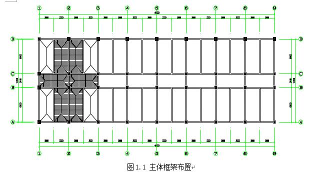 办公楼框架结构毕业设计-昆明理工大学
