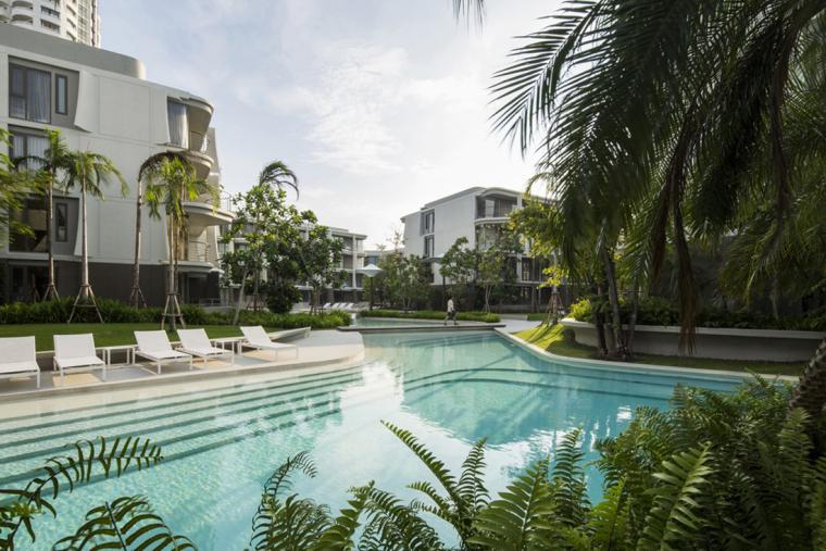 泰国BAANSANKRAAM住宅区_5