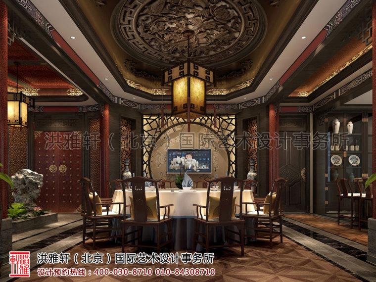 北京古典中式装修茶楼会所奢华的古典音符_3