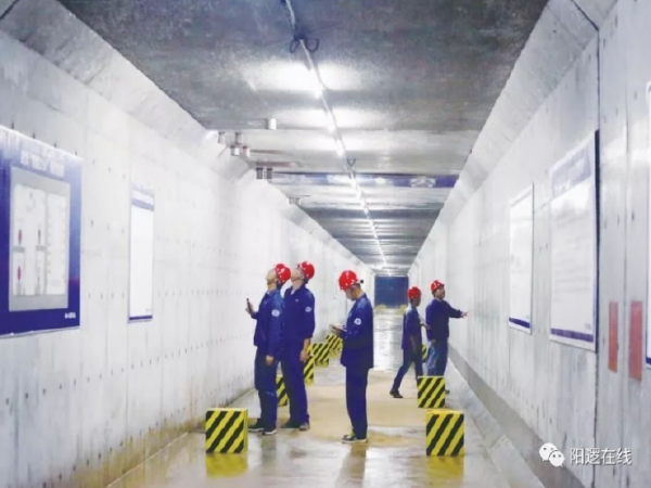 """""""阳逻之心""""地下综合管廊项目精心打造鲁班奖优质工程!"""