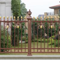 广西玉林保宁铝艺护栏坚耐腐蚀免维护,厂家直销