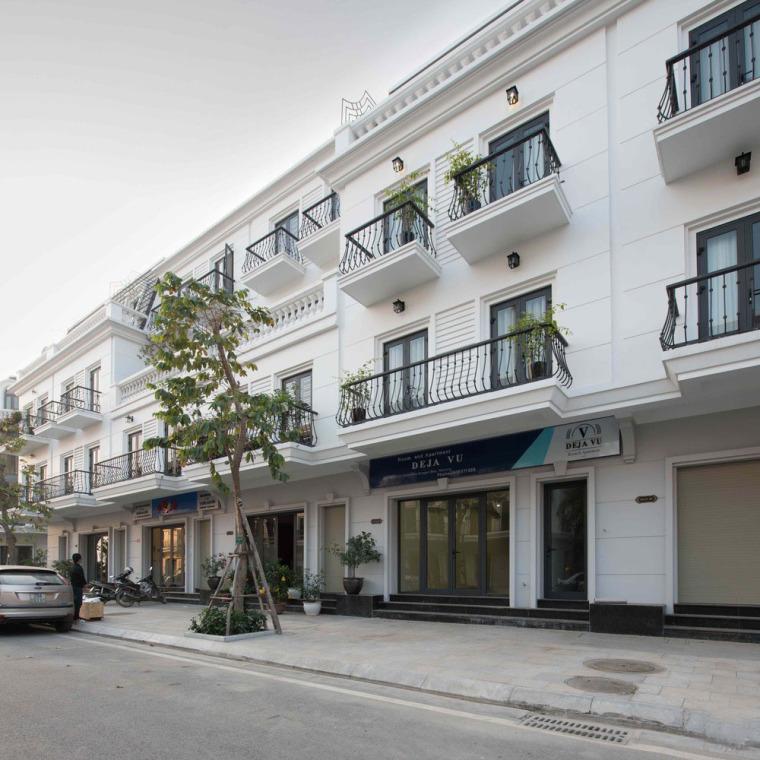 越南现代化的Déjàvu公寓式酒店建筑