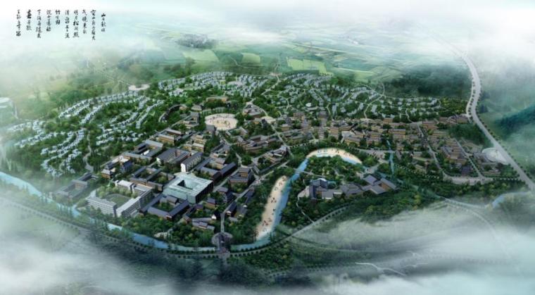 四川龙正复盛旅游区总体策划及概念性规划方案