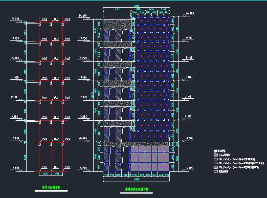 观光电梯建筑及钢结构施工图_1