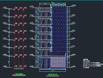 观光电梯建筑及钢结构施工图