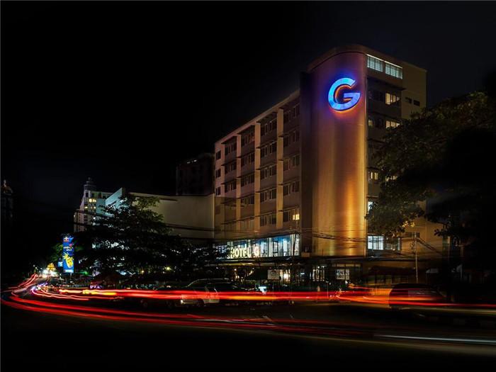 缅甸仰光G时尚连锁酒店设计   国外中端精品酒店设计连锁