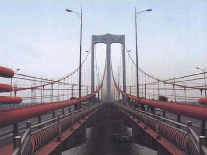 C50混凝土138m索塔顶推法混合加劲梁大跨度自锚式悬索桥设计与施工技术总结439页