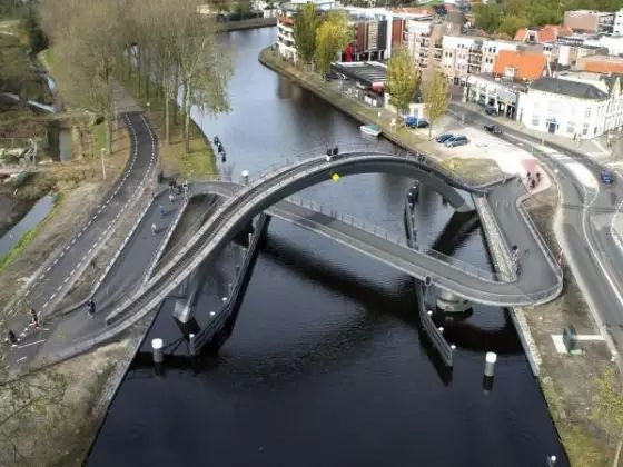 如此个性的桥你见过几个?