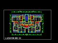 方案某高层住宅小区两梯两户平面图(174平米)