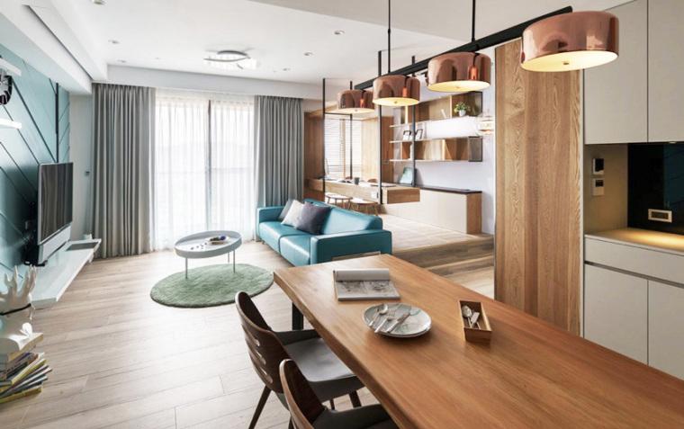 新竹现代风亲子公寓-6