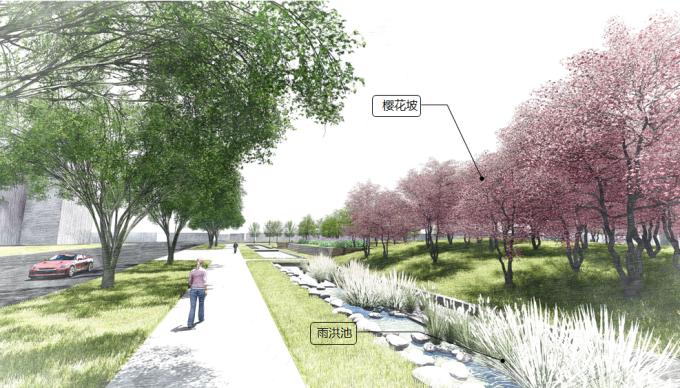 """[上海]""""海绵城市""""生态复合型公共休闲绿地景观规划设计方案_1"""