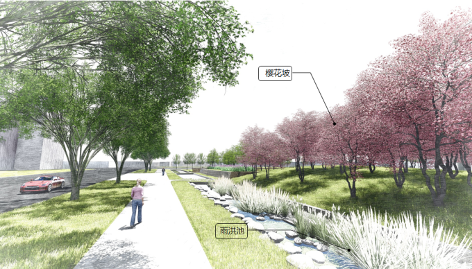 """[上海]""""海绵城市""""生态复合型公共休闲绿地景观规划设计方案"""