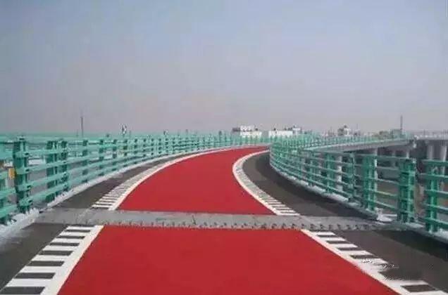 彩色沥青混凝土路面的设计与施工应用_2