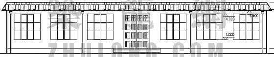 某骨灰堂陈列室建筑设计方案