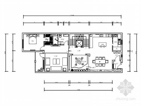 [北京]现代奢华欧式双层别墅室内装修图(含效果)