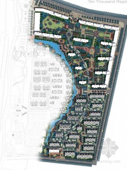 [濮阳]临街高层住宅景观规划设计方案