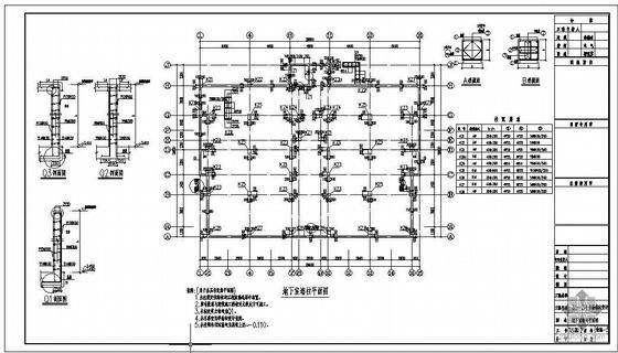 天津某庄园别墅群结构图