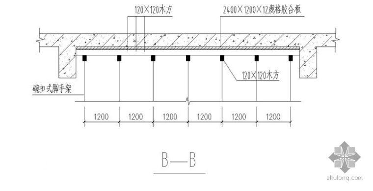 昆明某大学试验楼模板施工方案(钢模板)