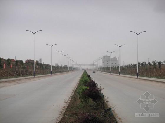 芜湖经济技术开发区某道路排水工程(实施)施工组织设计