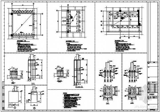 某防倒塌棚架节点构造详图