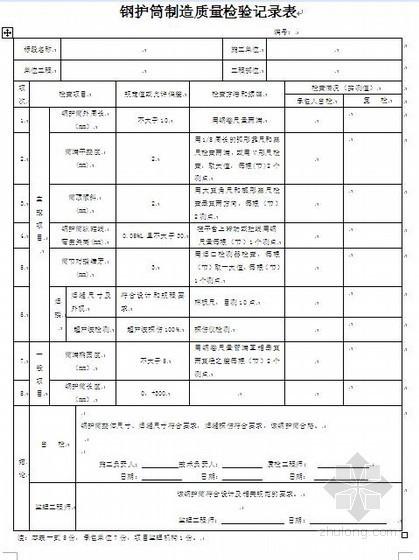 某城际铁路桥梁工程质量检验记录表