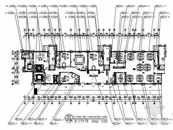 [江西]奢华欧式公馆售楼部办公室装修图(含效果)