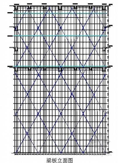 高大模板施工方案(附计算书、CAD图)