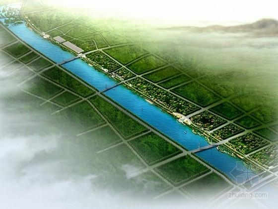 [西安]滨水国际商务区景观带规划设计方案