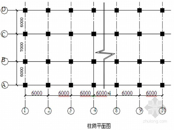 建筑物柱下条形基础结构配筋设计及地基梁设计计算书