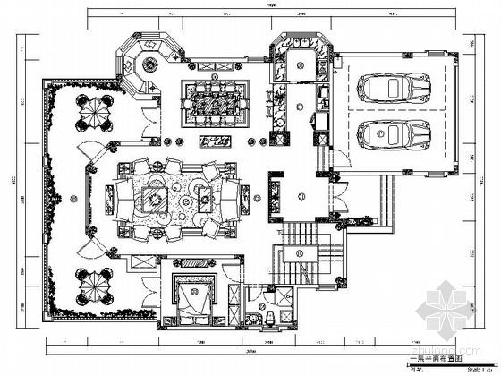 [重庆]保利花园双层洋房别墅地中海风格装修图(含实景)