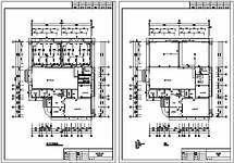 某变电中心气体灭火系统设计图纸