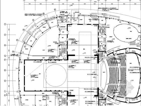 [吉林]省级剧院全套电气施工图纸167张(全面智能化)