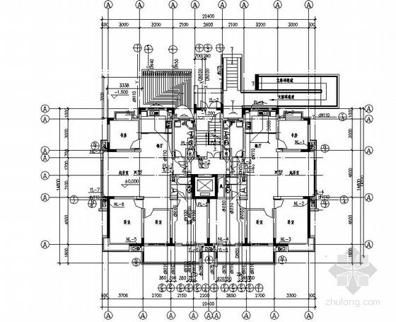 某十二层住宅给排水及消防设计图