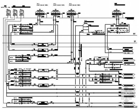 某无尘厂房空调流程图