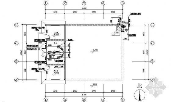 某市生物工程技术学校消防水池详图