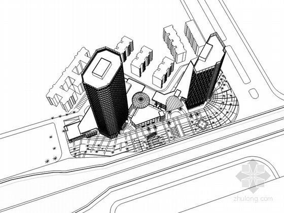 商业综合建筑
