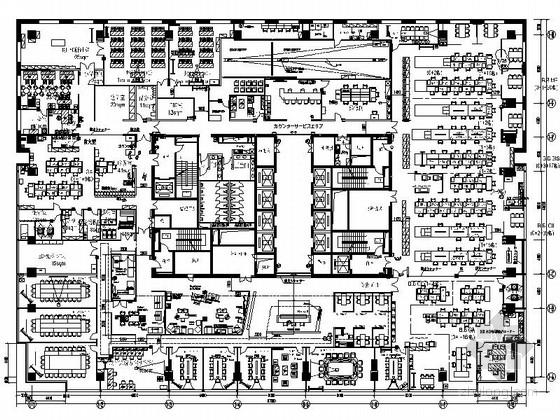 某知名品牌电子产品亚洲总部现代办公楼室内装修图(含效果)